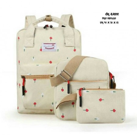 New backpack set melati
