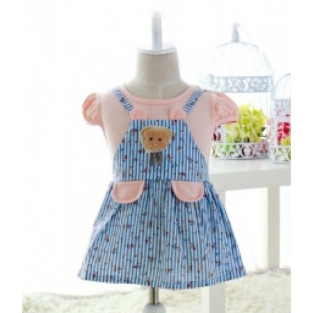 BAJU DRESS ANAK-ANAK IMPORT KD38 PINK