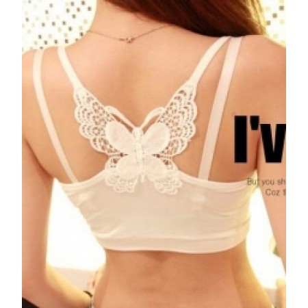 BUTTERFLY CAMISOLE LG108 WHITE
