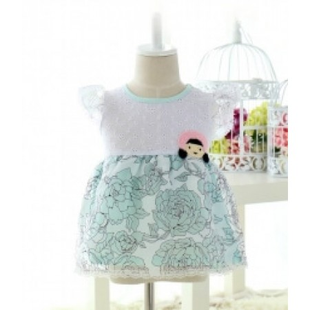 GAUZE KIDS DRESS IMPORT KD25 TOSCA