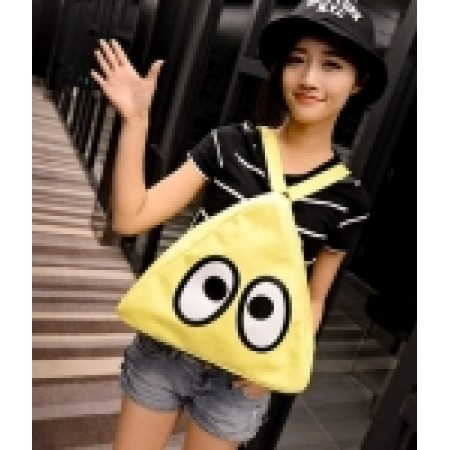 CUTE CANVAS BACKPACK BG586 YELLOW