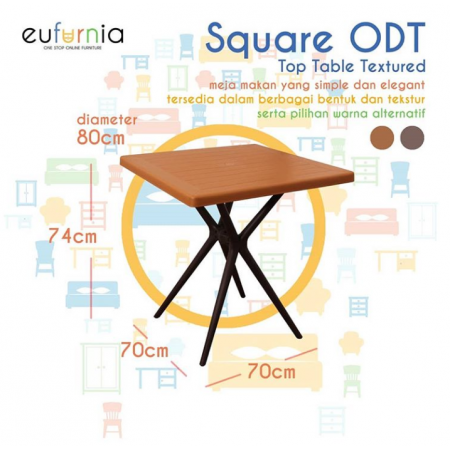 Olymplast Dining Table Square ODT