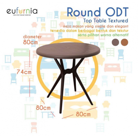 Olymplast Dining Table Round ODT