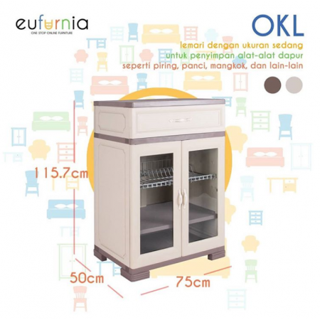 Olymplast kitchen Locker OKL