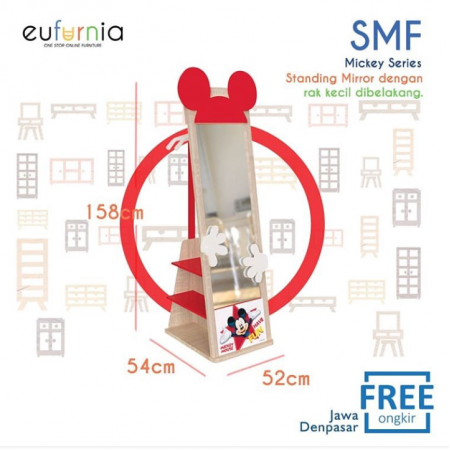 Olympic Standing Mirror Mickey Series - Cermin Anak Character Mickey / SMF