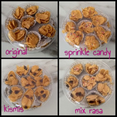 KUE KERING CORN FLAKES MIX