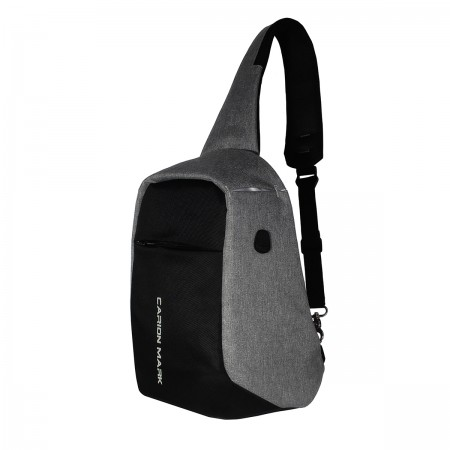 Tas Anti maling, Tas Slempang, Tas Samping, Small Hole for Headset Carion 410001 A