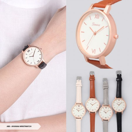 Avianaa Romawi Round Wristwatch