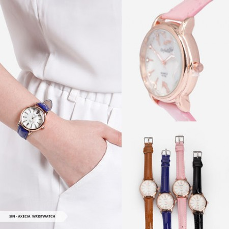 Axecia Analog Round Wristwatch