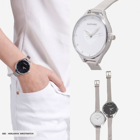 Herlanva Heart Round Wristwatch