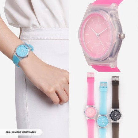 Jianirra Plain Round Wristwatch