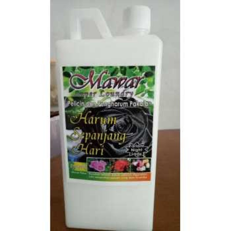 Mawar Super Laundry By Wardah - Mawar Hitam (Night Lady)