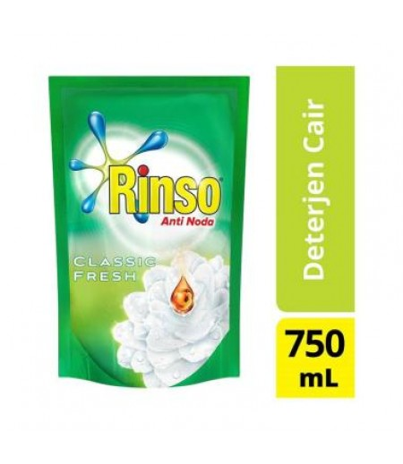 Rinso Liquid Reffil 750ml