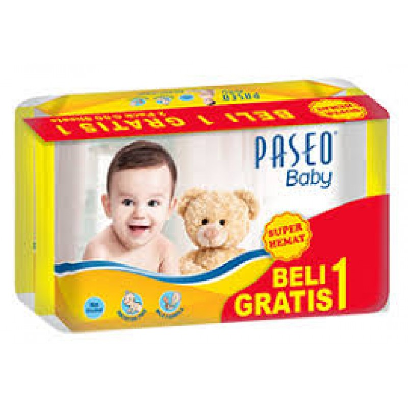 Paseo Baby Wipes 50s