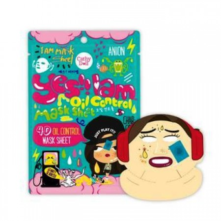 Cathy Doll 4D Oil Control Mask Sheet Yes I Am