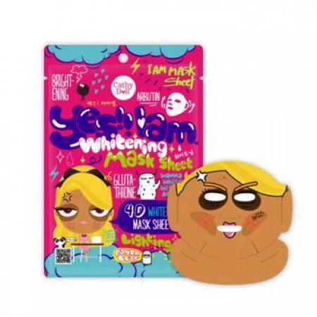 Cathy Doll 4D Whitening Mask Sheet Yes I Am