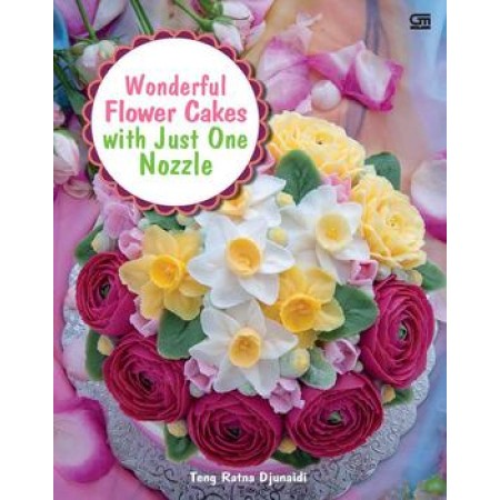 Wonderful Flower Cakes With Just One Nozzle