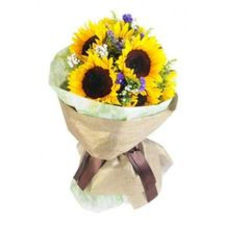 Bouquet Of 6 Sunflower