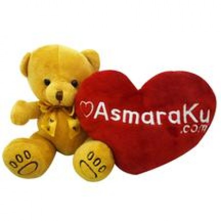 Cute Light Brown Teddy Bear with