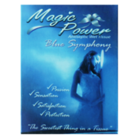 Magic Power Tissue Blue Symphony