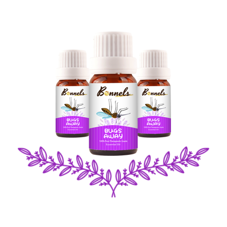 Bonnels Bugs Away Essential Oil - Solusi Anti Nyamuk 100% Organik dan Alami