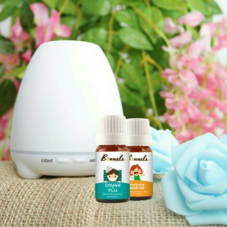 Bonnels Paket Diffuser 100ml + 2 Essential Oil