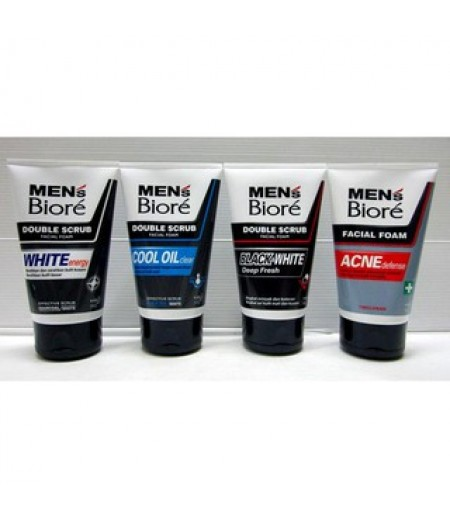 Biore Men Facial Wash 100ml Allvariant