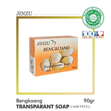 BENGKOANG TRANSPARANT 90gr (JINZU NATURAL SOAP)