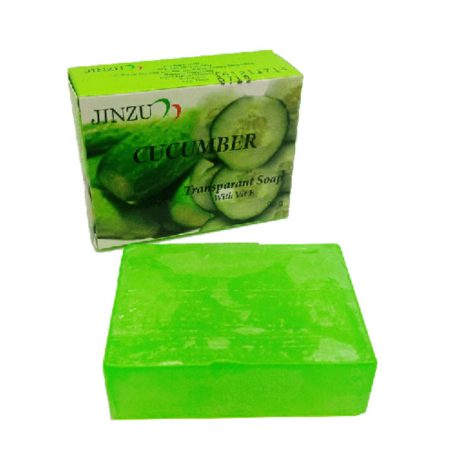 CUCUMBER TRANSPARANT 90gr (JINZU NATURAL SOAP)