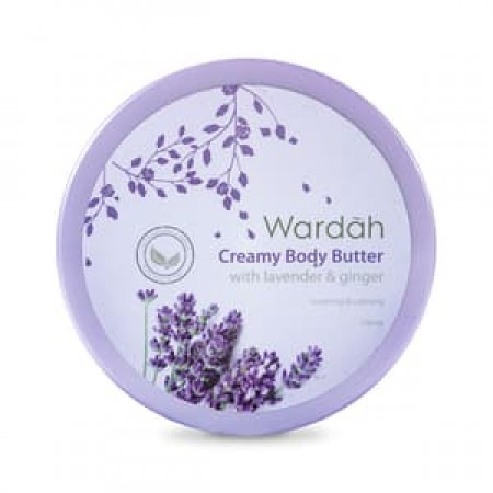 Wardah Body Butter Lavender And Ginger 150ml