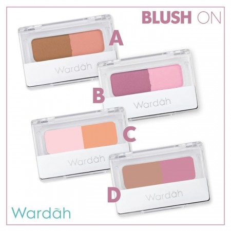 Wardah Blush on B 4gr