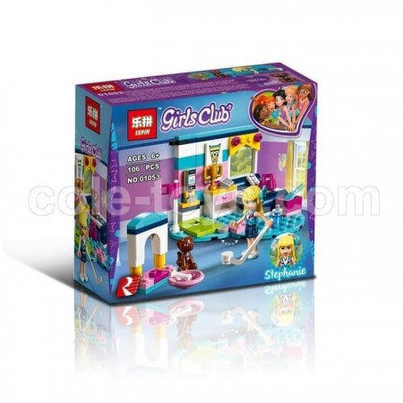 Brick Lepin 01053 Friends Stephanie's Bedroom 106pcs