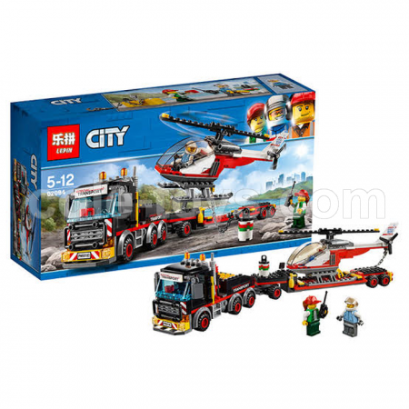 Brick Lepin 02094 City Series Heavy Cargo Transport 347pcs