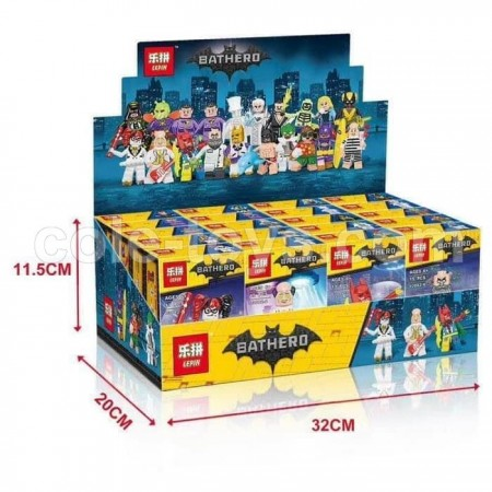 Brick Lepin 03082 Mini Figure Batman Movie Series 2 20 in 1
