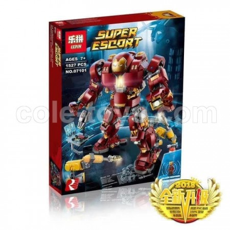 Brick Lepin 07101 The Hulkbuster : Ultron Edition 1527pcs