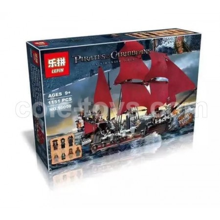 Brick Lepin 16009 Pirates of the Caribbean Queen Anne's Revenge