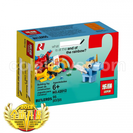 Brick Lepin 42012 Rainbow Fun 95pcs