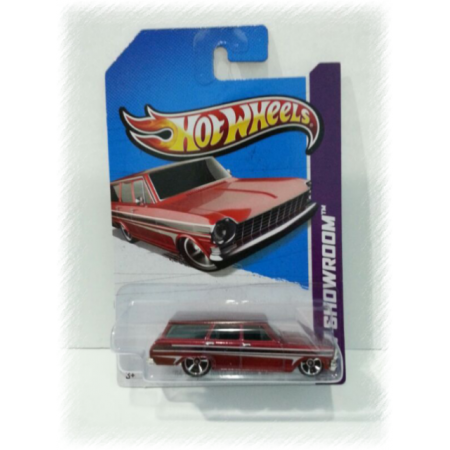 Hotwheels 2013 '64 Chevy Nova Station Wagon