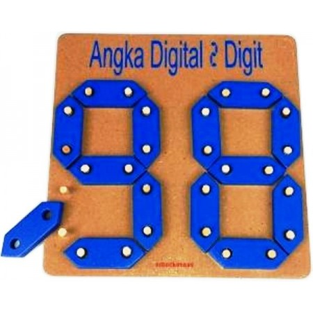 Angka Digital Dua Digit