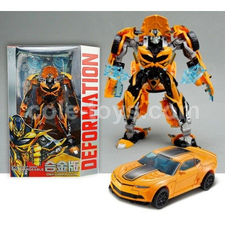 KBB Transformers Deformation Bumble Bee with Metal Part