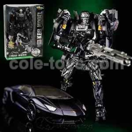 KBB Transformers Deformation Lockdown Black
