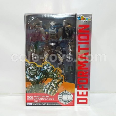 KBB Transformers Deformation Lockdown with Metal Part