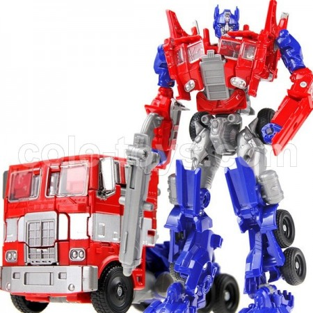 KBB Transformers Deformation OPtimus Prime with Metal Part