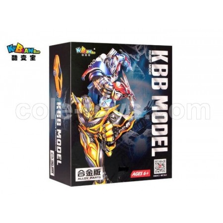 KBB Transformers Optimus Prime with Metal Part