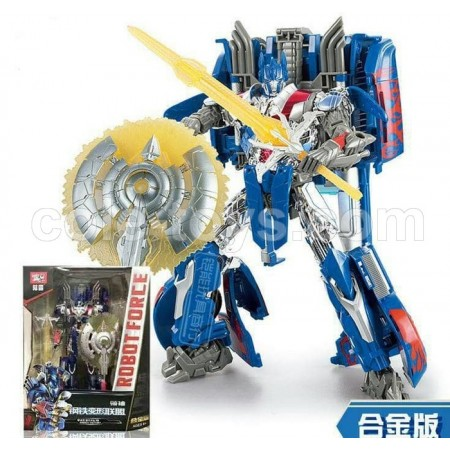 Weijiang Transformers 5 Optimus Prime AoE Oversize The Last