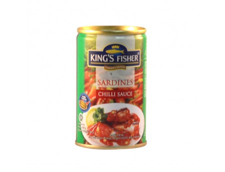 King's Fisher Sardines Chili Sauce 155gr