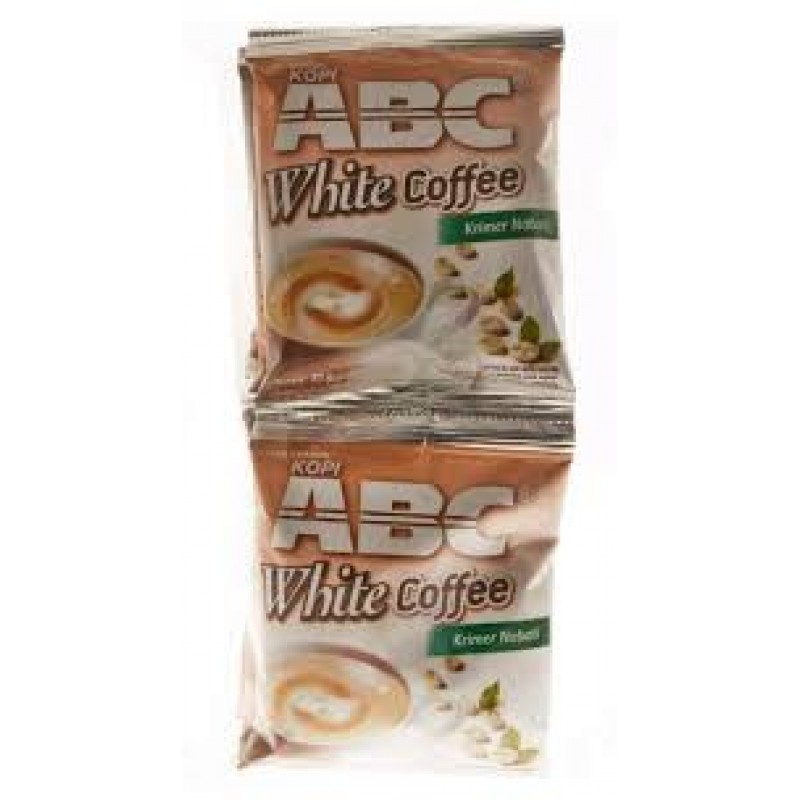 Kopi abc white coffee 12x27gr