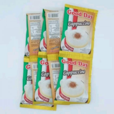 Good Day Cappucino 10x25gr