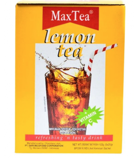 Max Tea Lemon Tea 5's