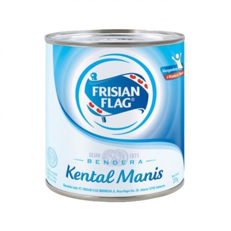 Frisian Flag Kental Manis  370gr Putih